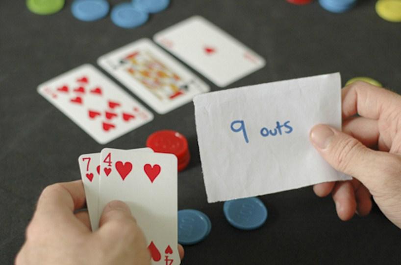 Ауты в покере.