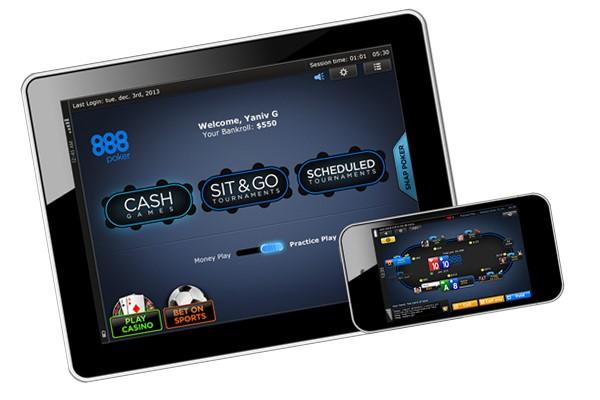 Мобильное приложение 888 poker